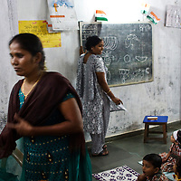 Christian school in Dharavi slum, Mumbai