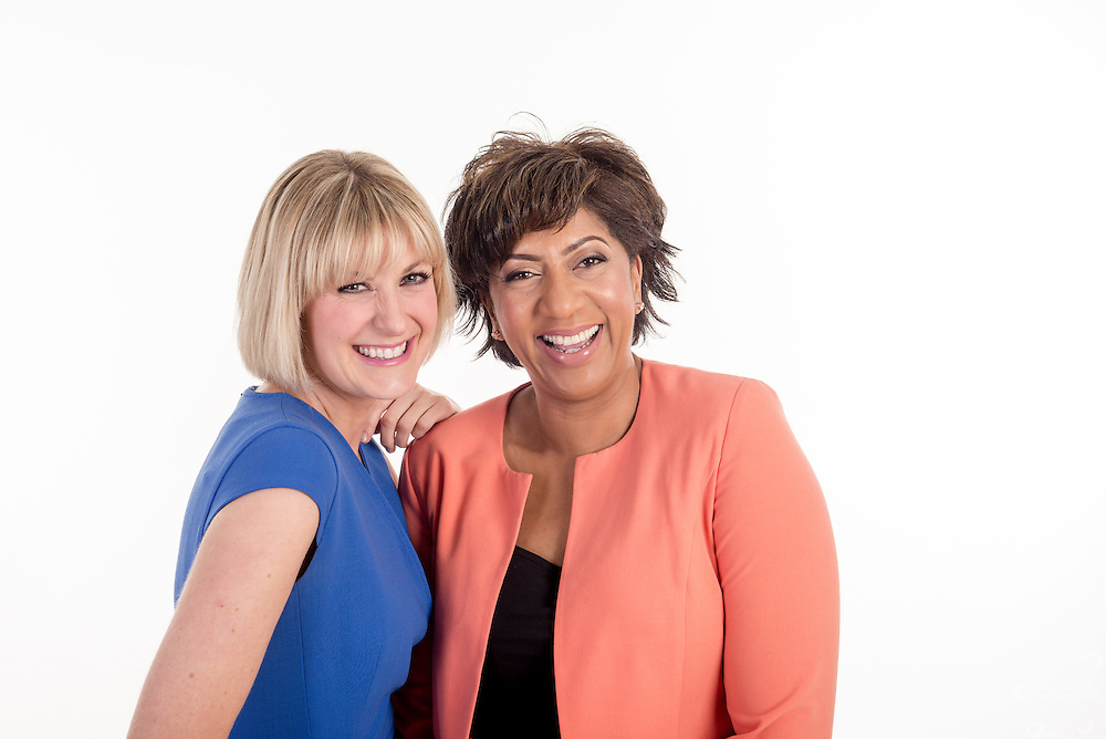 Trish Adudu and Jo Tidman for BBC Radio Coventry and Warwickshire. Whole series of the New Breakfast show hosts for Marketing, publicity and player use.<br />