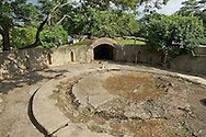 Huwei Fort ???? in Tamsui, Taiwan used to have some very largge cannons.