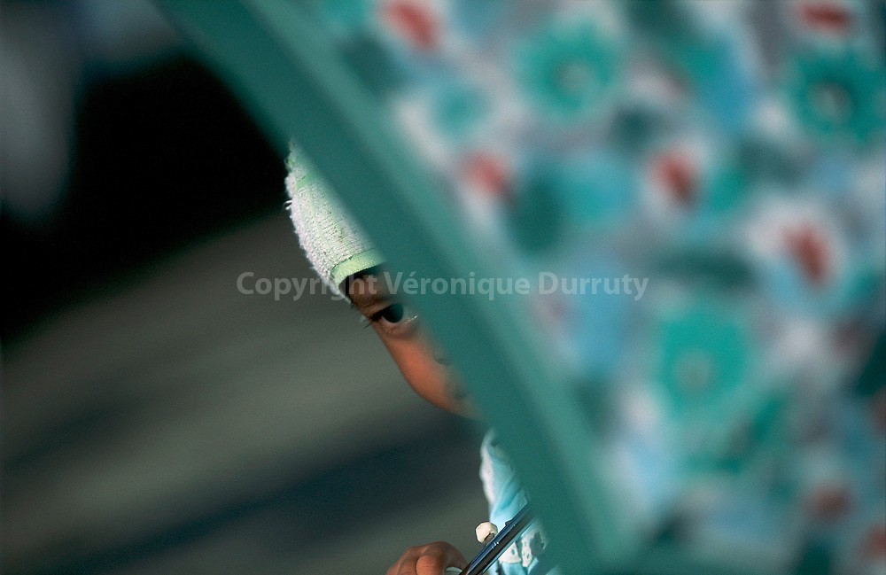 ENFANT, BORNEO, MALAISIE