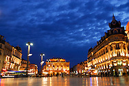 France, Languedoc Roussillon, Hérault, Montpellier, place de la Comédie
