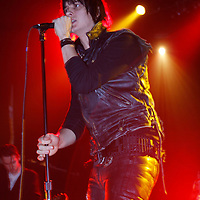 Julian Casablancas performing songs from his solo album Phrazes for the Young at Terminal 5 on January 14, 2010.