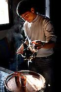 Mint Tea, Medina, Old Town, Chefchaouen, Rif Mountains, Morocco