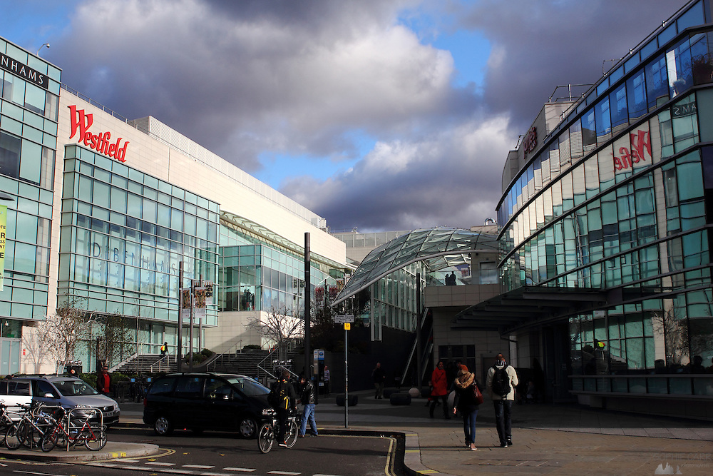 Westfield Shopping Centre, Shepherd's Bush, West London