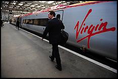 OCT 2009 George Osborne on a Train