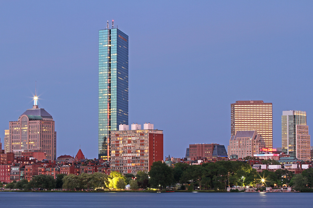 Striking Architecture of the Boston Back Bay photography showing historic and modern architectural marvels and landmarks such as the John Hancock Tower, renamed by Boston Properties as 200 Clarendon, 330 Beacon Street Corporation building, Lenox Hotel, 1 Huntington Avenue, 10 Huntington Avenue also known as The Westin Copley Place Boston Hotel, 77 Exeter Street, Berkeley Building and 500 Boylston Street on a beautiful night at twilight.<br /> <br /> This Boston Back Bay architecture night photography image is available as museum quality photography prints, canvas prints, acrylic prints or metal prints. Prints may be framed and matted to the individual liking and decorating needs: <br /> <br /> http://juergen-roth.pixels.com/featured/striking-architecture-of-the-boston-back-bay-juergen-roth.html<br /> <br /> All Boston Back Bay pictures are available for digital and print use at www.RothGalleries.com. Please contact me direct with any questions or request. <br /> <br /> Good light and happy photo making!<br /> <br /> My best,<br /> <br /> Juergen<br /> Image Licensing: http://www.RothGalleries.com <br /> Fine Art Prints: http://juergen-roth.pixels.com<br /> Photo Blog: http://whereintheworldisjuergen.blogspot.com<br /> Twitter: https://twitter.com/naturefineart<br /> Facebook: https://www.facebook.com/naturefineart <br /> Instagram: https://www.instagram.com/rothgalleries