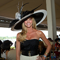 Sports broadcaster Erin Andrews seen at the Kentucky Derby in Louisville, Kentucky