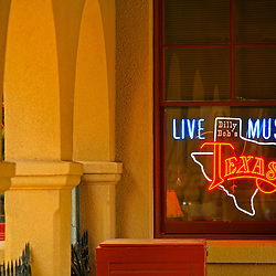 Billy Bob's neon sign, Fort Worth Stock Yards, Fort Worth, Texas