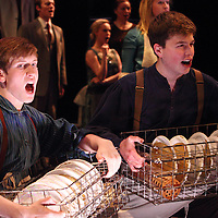 Logan Torbet (left) and Tyler Edwards during the 14th Annual ArtsGala at Wright State University's Creative Arts Center, Saturday, April 6, 2013.