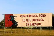 Revolutionary signs in Havana, Cuba.