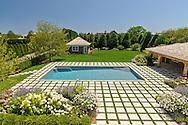 Swimming Pool, Wainscott Main Street, Wainscott, Long Island, New York