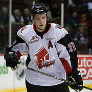 Brett Howden (21)  Moose Jaw Warriors