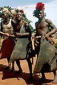 Tropical cultures: Africa: Liberia, Chad, Congo, Burkina, Niger: traditional village life, tribe