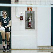 Archmere Academy Kaylie Leclerc (10) attempts to serve during the 2nd Round of the 2015 DIAA Girls Volleyball Tournament Saturday, Nov. 07, 2015 at Archmere Academy in Claymont.