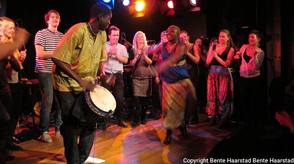 Angélique Kidjo, Grammy award-winning musician from Benin in West Africa, was the opening artist of Trondheim Jazz-Fest 2011.