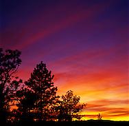 Sunset At Inspiration Point, Bryce Canyon National Park, Utah