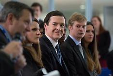 JUN 06 2014 George Osborne and Christine Lagarde at IMF press conference