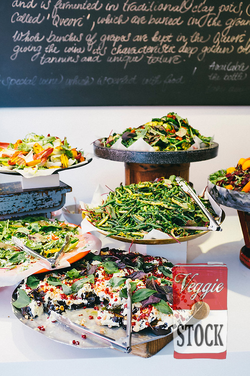 Salad Bar at Ottolenghi, London