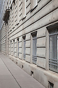 Front facade. Post Office Savings Bank, Vienna, Austria 1904-12 Architect: Otto Wagner