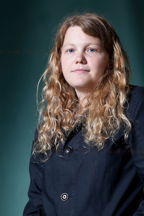 Kate Tempest, the English poet, spoken word artist and playwright, at the Edinburgh International Book Festival 2015. Edinburgh, Scotland. 18th August 2015 <br /> <br /> Photograph by Gary Doak