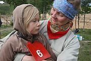 Laila Bergstrøm and daughter Sol (6).