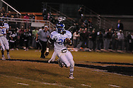 Water Valley's Quinterrio Bailey (24) runs vs. Mooreville in Mooreville, Miss. on Friday, September 30, 2011. Water Valley won 21-20 in overtime.