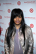 Teyana Taylor at The Rush Philanthropic Arts Foundation's 9th Annual Youth Holiday Party Sponsored by Target. The annual holiday event brings together over 500 at-risk young people affiliated with the 50 youth arts organizations Rush Philanthropic supports...In celebration of the creative energy of our New York City Youth, this annual holiday event is all about showing love and support for the kids, and letting them know that their hard work and many accomplishments through out the year don't go unnoticed.