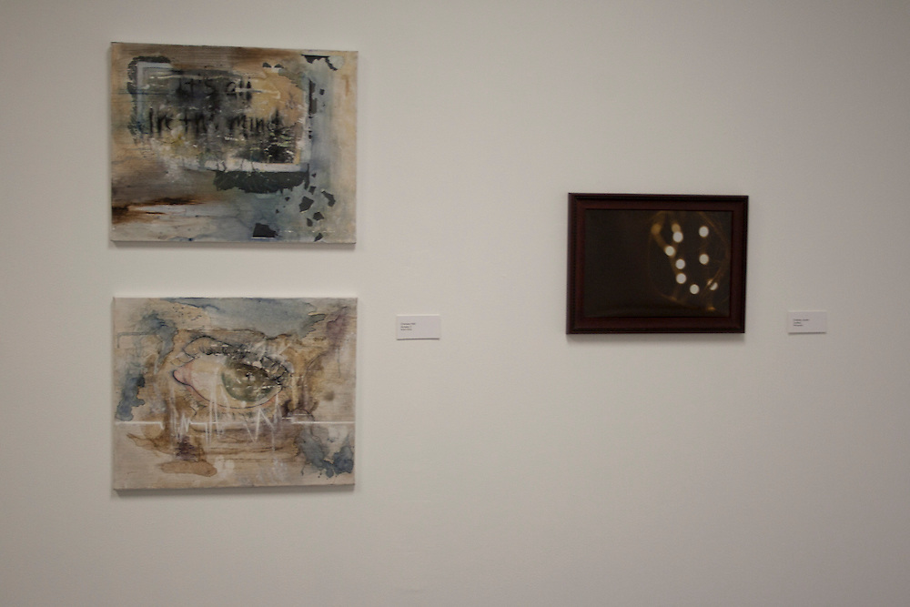 Chelsea Hall<br /> Anxiety 1<br /> Mixed media<br /> (left)