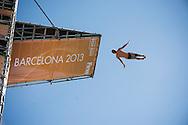 27 m Men<br /> 15 FINA World Aquatics Championships<br /> Day-10 High Diving <br /> Barcelona 19 July - 4 August 2013<br /> Photo G.Scala/Insidefoto/Deepbluemedia.eu