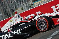 Helio Castroneves, Honda Grand Prix of St. Petersburg, Streets of St. Petersburg, St. Petersburg, FL USA 03/24/13