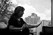 Tibisay Lucena, presidenta del Consejo Nacional Electoral (CNE) Caracas. 20 Septiembre, 2010. (Ivan Gonzalez).