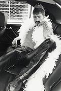 Portrait session of Frankie McTavish in downtown LA in 1997.
