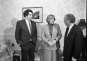 "1989 - ""Guildford Four"" Release Committee Meet Charles Haughey TD.  (R98)."