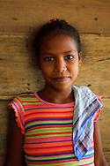 Girl near La Maquina, Guantanamo, Guantanamo, Cuba.