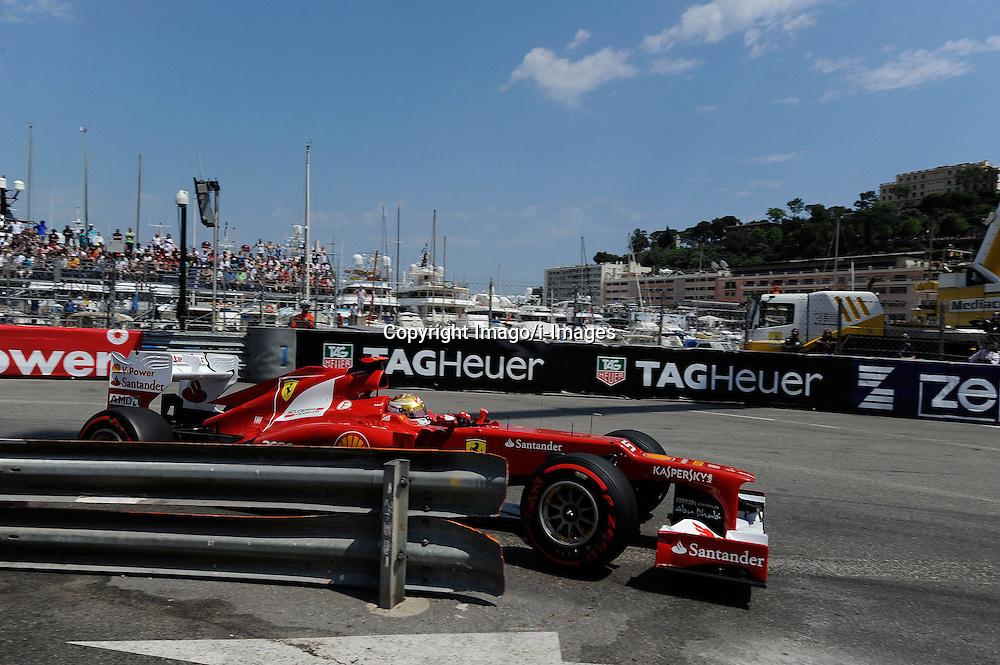 Fernando Alonso at the Monaco Formula One Grand Prix at the Circuit de Monaco, Sunday May 27, 2012 in Monte Carlo, Monaco. Photo By Imago/i-Images
