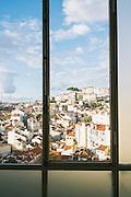 View of Miradouro da Senhora do Monte from Café da Garagem - Teatro Taborda