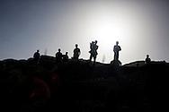 Boys in the sunset, Adi Sibhat, Tigray, Ethiopia.