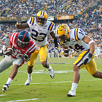 NCAA FOOTBALL 2010 - NOV 20 - Ole Miss at LSU