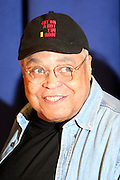 "James Earl Jones,  at "" Cat on a Hot Tin Roof "" Press conference announcing limited broadway run,  at Broad Hurst Theater on January 8, 2008 in New York City"
