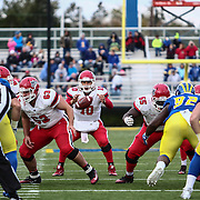 Stony Brook quarterback JOE CARBONE (10) attempts a pass during a week eight game between the Delaware Blue Hens and the Stony Brook Seawolves, Saturday, Oct. 22, 2016 at Tubby Raymond Field at Delaware Stadium in Newark, DE.