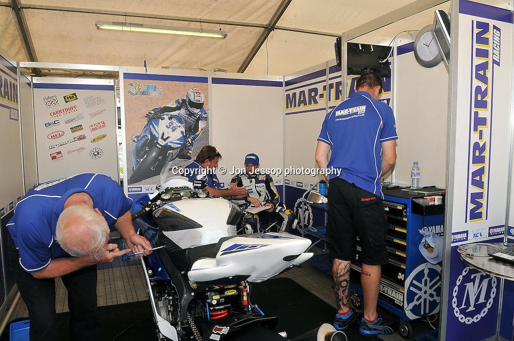 #34 Alastair Seeley Mar-Train Yamaha British Supersport