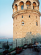View of the Galata Tower from Anemon Galata Hotel