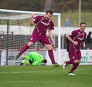 22-10-2016 Arbroath v Stirling University FC