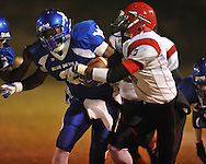 Water Valley vs. Corinth in high school football playoff action in Water Valley, Miss. on Friday, November 5, 2010.
