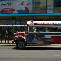Pictured: Via Espan?a shooping area Street scene. Downtown Panama City. Via Espan?a Avenue
