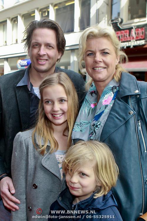 Photo of Irene Moors & her Son  Tijn Lucas