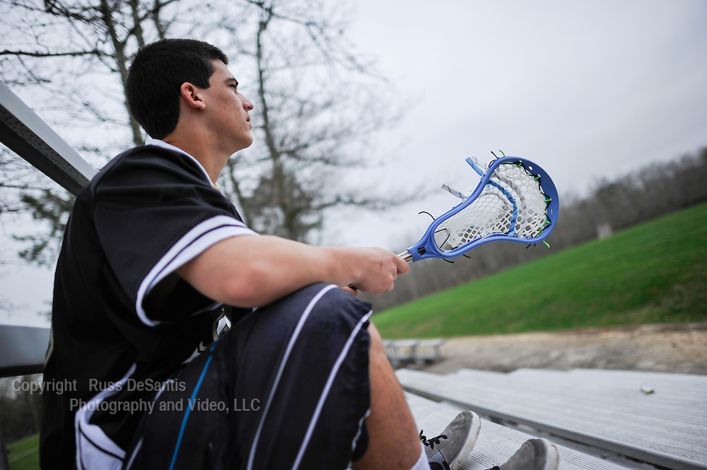 Dylan Jinks plays lacrosse for Southern Regional High School in Manahawkin. / Russ DeSantis Photography and Video, LLC