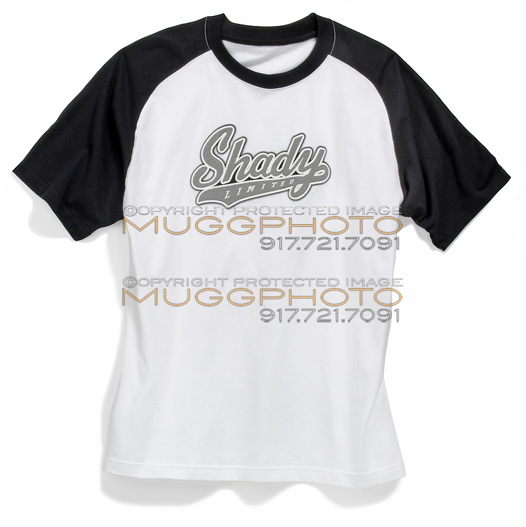 black and white shady limited t-shirt