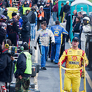 pit row during the Sprint Cup Series AAA 400 Sunday, Oct. 02, 2011 at Dover International Speedway in Dover Delaware.