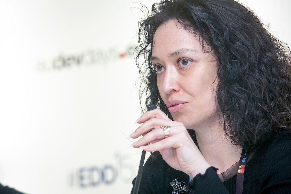 04 June 2015 - Belgium - Brussels - European Development Days - EDD - Gender - Empowering women in Central Asia - Stories from the field - Olga Nogaeva<br /> International project manager at Formaper - Agency of the Milan Chamber of Commerce, Industry, Craft &amp; Agriculture &copy; European Union